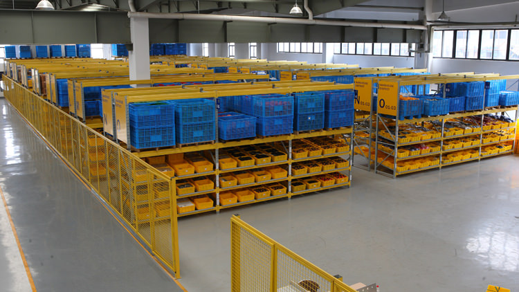 Spare parts warehouse